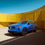 El Acura RDX 2022 permanece en el podio con un nuevo estilo, más características y pintura Long Beach Blue Pearl